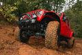 Brave Motorsports Project Jeep Gladiator flexing
