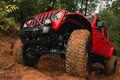 Brave Motorsports Project Jeep Gladiator front end underside