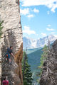 climbing, Edge of Time, Lily Lake, Estes Park Valley, Colorado Front Range