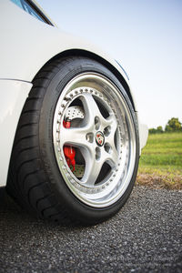 Porsche 964 Turbo Wheel, Cullen Park, Houston, Texas