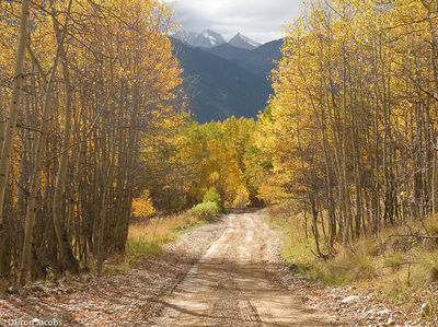 Aspen Avenue, Ophir Pass, Telluride, San Juan Mountains, Colorado, CO, Subaru, South Lookout Peak, Old Ophir, Lookout Peak