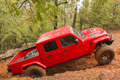 Brave Motorsports Project Jeep Gladiator in Barnwell Mountain