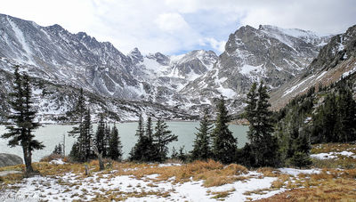 Grande Cirque, Lake Isabelle, Indians Peaks Wilderness Area, Colorado