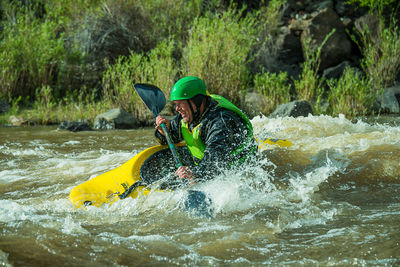 Aren Rane, The Racecourse, Rio Grande River, New Mexico, whitewater,  kayaking action, Santa Fe Workshops, Adventure Photography Workshop, Michael Clark.​