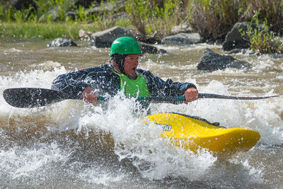 Aren Rane, Surfing, The Racecourse, Rapids, Rio Grande River, New Mexico