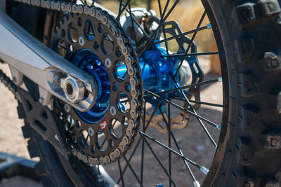 Daniel Coriz,  KTM, Santa Fe Motocross Track, New Mexico, Santa Fe Workshops, Adventure Photography Workshop, Michael Clark, motocross action photoshoot, engineering, craftsmanship, rear sprocket