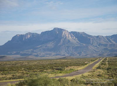 Guadalupe Peak, Highway 62, Guadalupe Mountains, Texas, Signal Peak, 8,751 feet