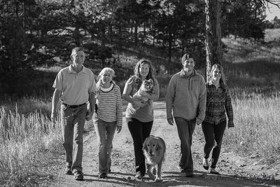 Judy's fall season family creative portraits