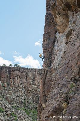 Aaron Miller, Diablo Canyon, New Mexico, Santa Fe Workshops, Adventure Photography Workshop, Michael Clark