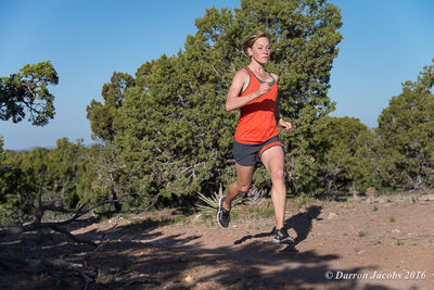 Meaghan Brown, Trail, Santa Fe, New Mexico