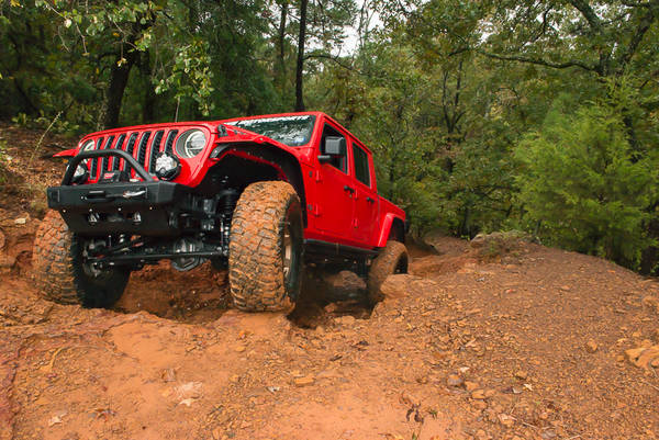 Brave Motorsports, Project Jeep Gladiator, Barnwell Mountain Recreation Area, Gilmer, Texas