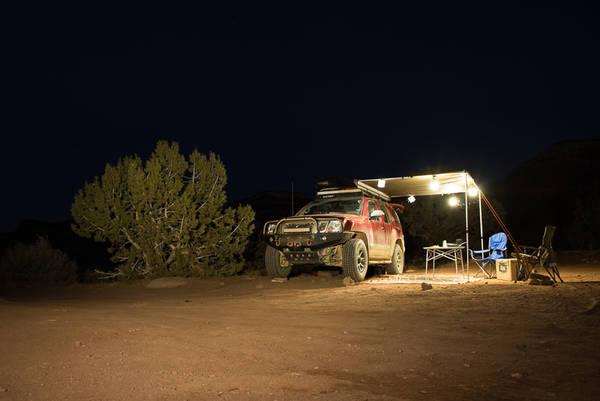 Nissan Xterra Pro4X base camp