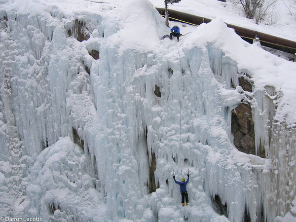 Ice Climbers, Ouray Ice ParkOuray, San Juan Mountains, Colorado
