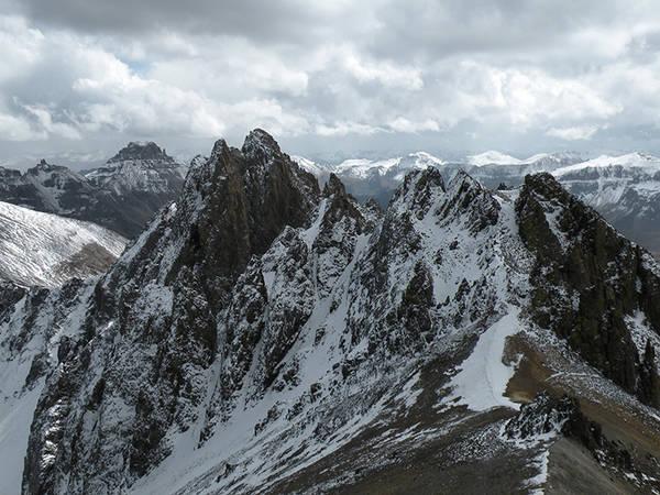 Kismet Peak, from Top of Lavender Col