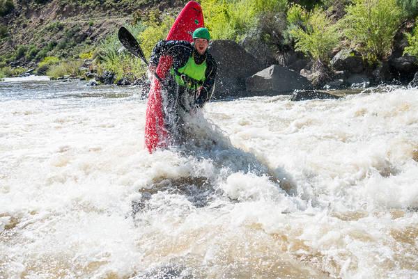 Aren Rane Whitewater Kayaking