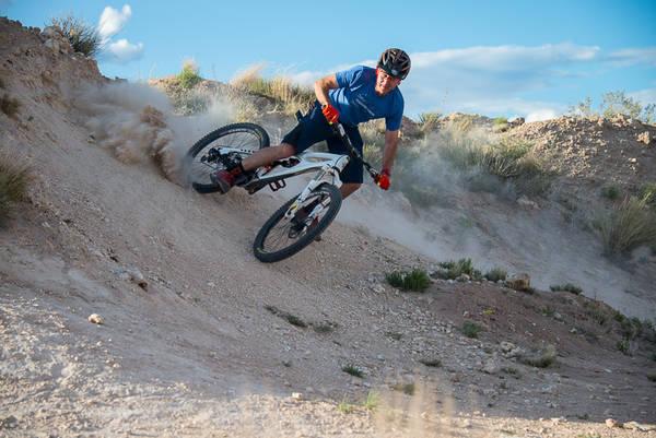 Chris Sheenan mountain biking