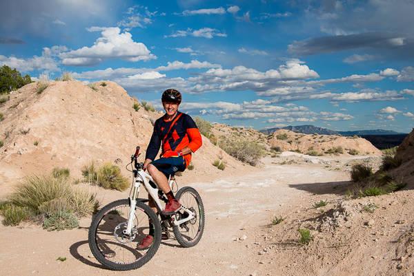 Chris Sheenan mountain biking lifestyle image