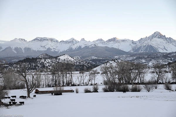 Mount Sneffels Range at Dusk