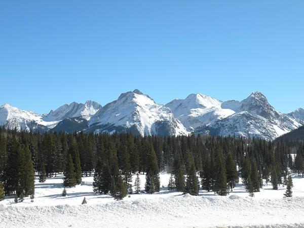 Needle Mountains, Molass Pass, Silverton, San Juan Mountains, Colorado
