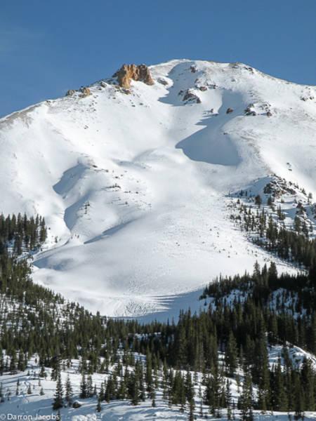 Ski Tracks on Red Mountain