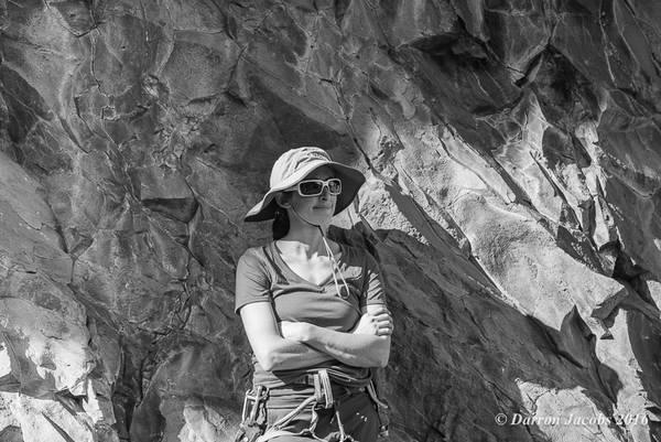 Amy Jordan chilling between Routes