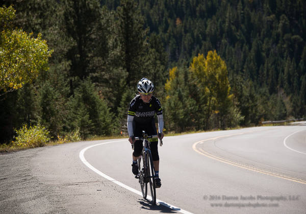 Jennifer's Road Bike Mountain Training Session