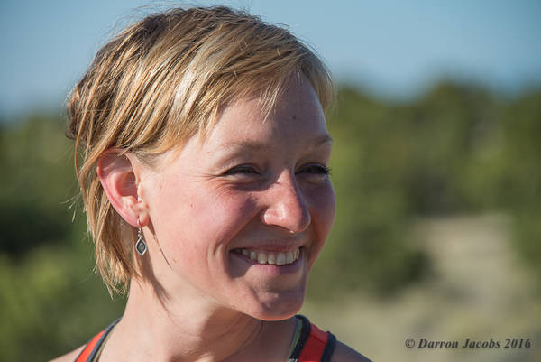 Meaghan Brown's  Trail Running Portrait
