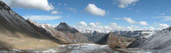 Yankee Boy Basin, Mount Sneffels range, San Juan Mountains, Colorado, Mount Sneffels, Camp Bird Mine road, Lavender Col, Dwight Lavender