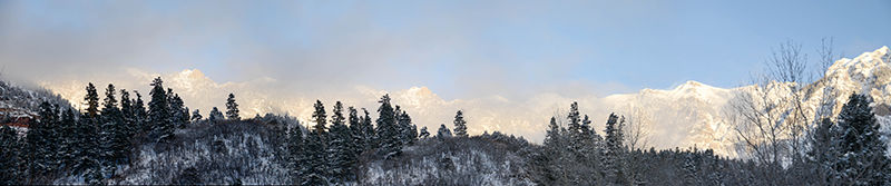 Mountains in the Mist, Ouray, Colorado