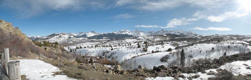 Mount Sneffels Range North Side