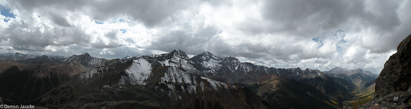 Storm Clouds Looming, from Lookout Peak