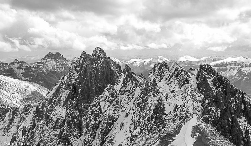 Kismet Peak, Lavender Col, Mount Sneffels range, San Juan Mountains, Colorado, fine art, PlexiPlaq, Limited Edition, photo