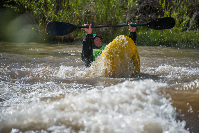 Aren Rane, Whitewater, Kayaking, Racecourse, Rio Grande River, New Mexico, action photo, Santa Fe Workshops, Adventure Photography Workshop, Michael Clark., photo