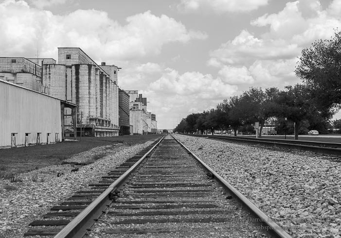 Old Katy Rice Silos, Texas, photo