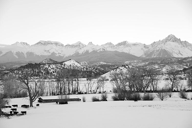 Mt Sneffels, photo