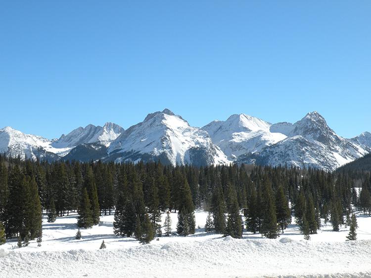 Needle Mountains, Molass Pass, Silverton, San Juan Mountains, Colorado, photo