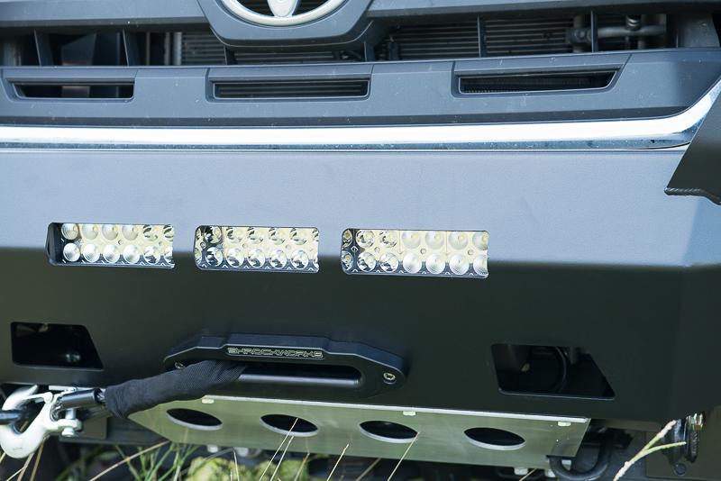 Shrockworks 4x4 Products, Toyota Tacoma, Front Bumper, LED light, North West Houston, Texas, photo