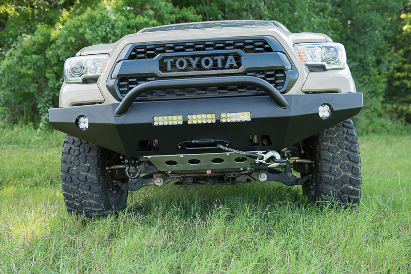 Shrockworks, Toyota Tacoma, 3rd generation, Front Bumper, West Houston, Texas, photo