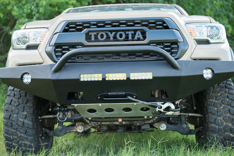 Shrockworks 4x4 Products, New Product Launch, Toyota Tacoma, Front Bumper, Skid Plate, North West Houston, Texas, photo