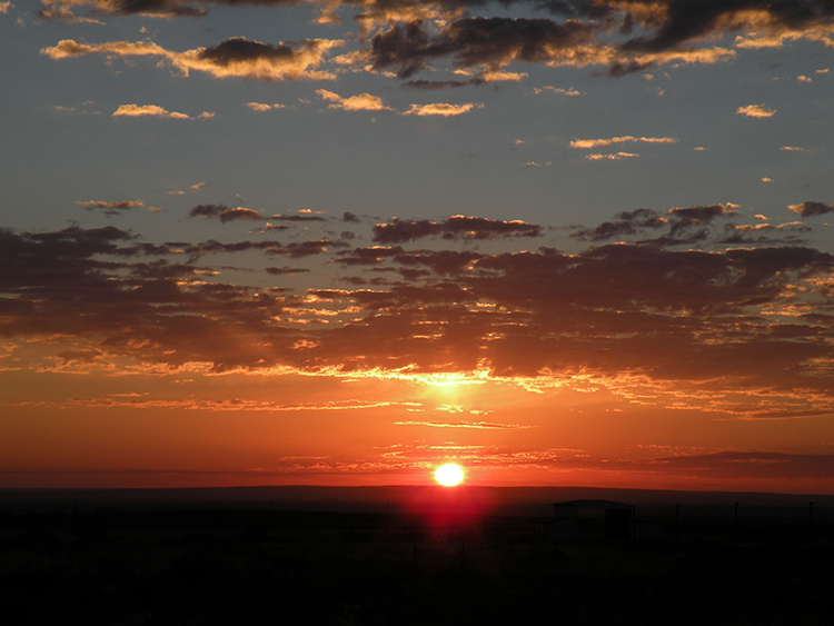 Sun Rise, New Mexico, Artesia, Roswell, Carlsbad, Texas, Cloudcroft, Ruidoso, Miller, Stegman, Sallie Chisum Robert Stegman, Illinois #3 , photo